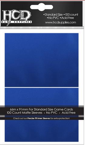 Deck Protector: Matte: Blue (100): 96755