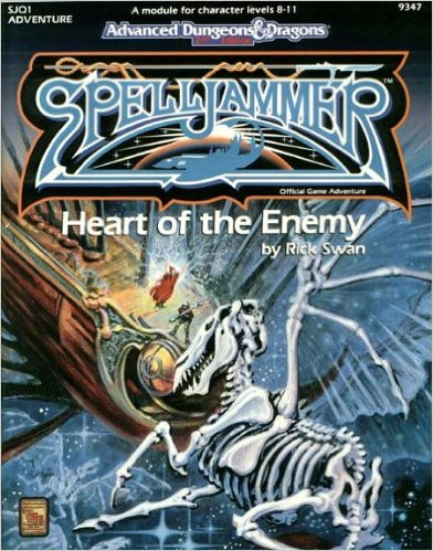 Dungeons and Dragons 2nd ed: Spelljammer: Heart of the Enemy - 9347