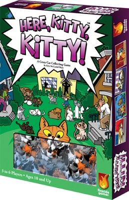 Here Kitty Kitty Board Game