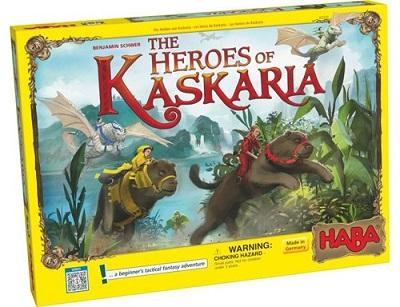 The Heroes of Kaskaria Board Game