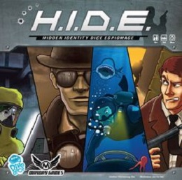 H.I.D.E. Hidden Identity Dice Espionage - USED - By Seller No: 16113 Taylor Smith