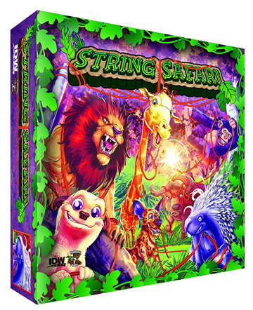 String Safari Board Game