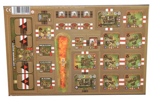Heroes of Normandie: UK Heavy Weapon Platoon Punch Board