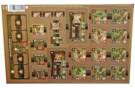 Heroes of Normandie: UK Canadian Infantry Platoon Punch Board