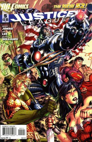 Justice League (2011 New 52) no. 5 - Used