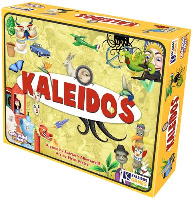 Kaleidos Board Game