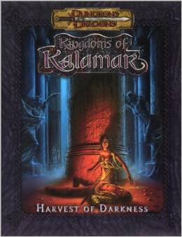 Dungeons and Dragons: Kingdoms of Kalamak: Harvest of Darkness - Used