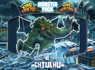 King of Tokyo: 2nd Edition: Cthulhu Monster Pack