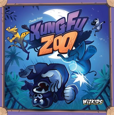 Kung Fu Zoo Board Game