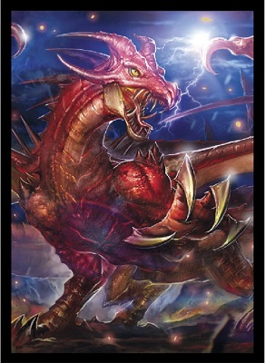 Deck Protector: Double Matte: Epic Dragon Tyrant (60 Sleeves)