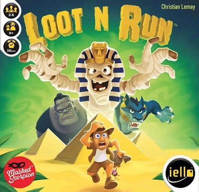 Loot N Run Card Game