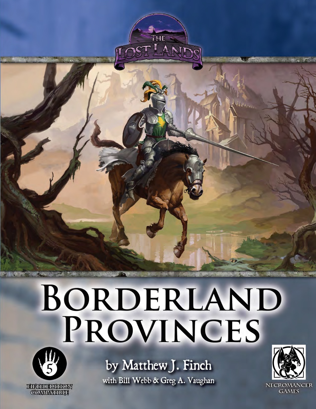 Dungeons and Dragons 5th ed: Lost Lands: Borderland Provinces