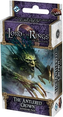 The Lord of the Rings the Card Game: The Antlered Crown Adventure Pack
