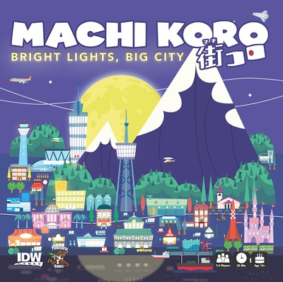 Machi Koro: Bright Lights Big City Expansion - USED - By Seller No: 211 Jaime Kennedy