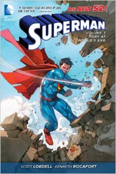 Superman: Volume 3: Fury at Worlds End HC - Used