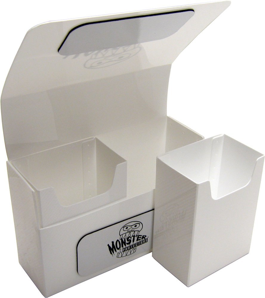 Double Deck Box: White