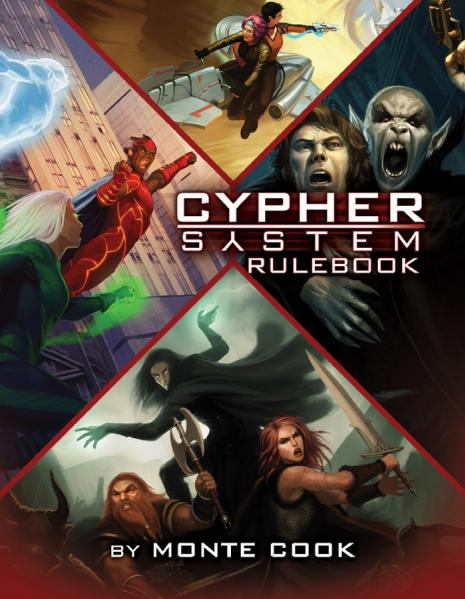 Numenera: Cypher System Rulebook (HC) - Used