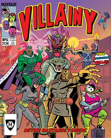 Villainy: Diabolical doom-dealing Doers of Dastardly Deeds - USED - By Seller No: 20 GOB Retail