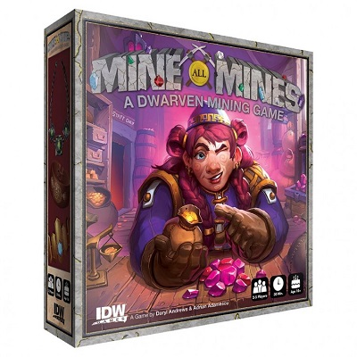 Mine All Mines Board Game