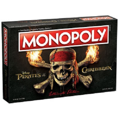 Monopoly: Pirates of the Caribbean (2017 Edition)