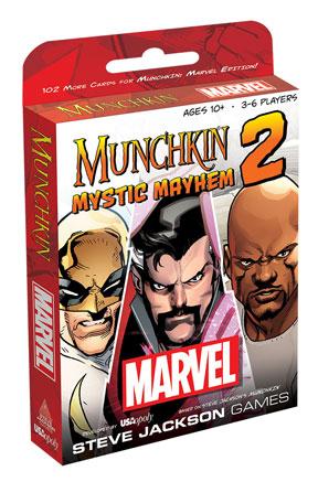 Munchkin: Marvel Universe 2: Mystic Mayhem