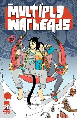 Multiple Warheads Complete Bundle (4 issues and graphic novel) - Used