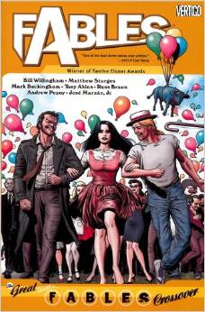 Fables: Volume 13: Great Fables Crossover TP - Used