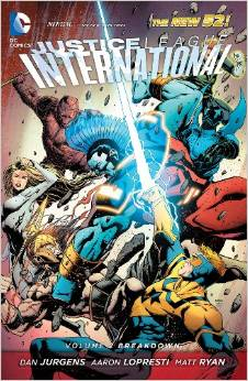 Justice League International: Volume 2: Breakdown TP - Used