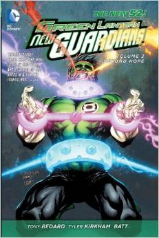 Green Lantern New Guardians: Volume 2: Beyond Hope HC - Used