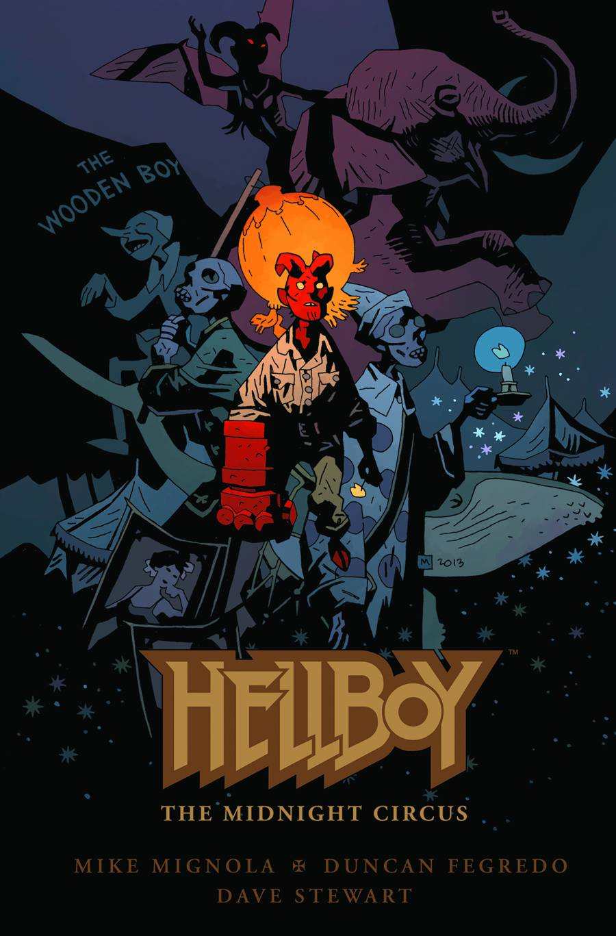 Hellboy: Midnight Circus HC