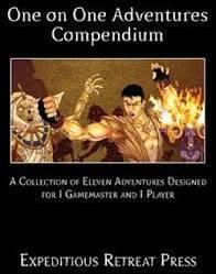 One on One Adventures Compendium (Pathfinder) - Used
