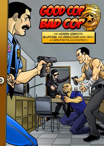 Good Cop Bad Cop Card Games 2nd edition