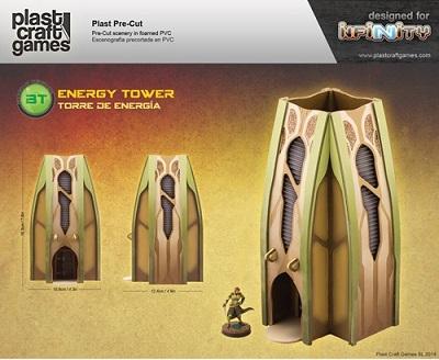 Plast Craft Infinity Terrain: Energy Tower