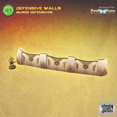 Plast Craft Infinity Terrain: Defensive Walls