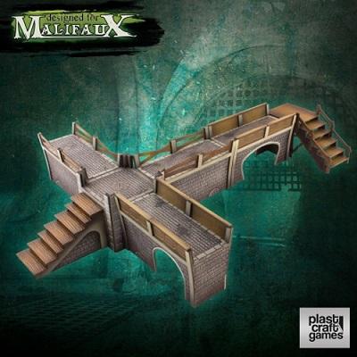 Plast Craft Malifaux Terrain: Sewers Walkway Set