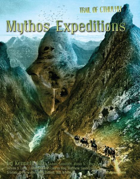 Trail of Cthulhu: Mythos Expeditions Hard Cover