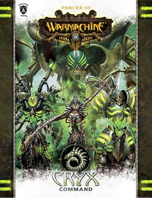 Forces of Warmachine: Cryx Command Soft Cover