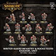 Warmachine: Khador: Winter Guard Infantry Unit (13): 33086