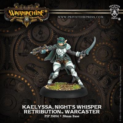 Warmachine: Retribution of Scyrah: Kaelyssa Nights Whisper 35054