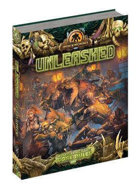Iron Kingdoms: Unleashed RPG Core Rules HC - Used