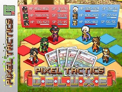 Pixel Tactics Deluxe Card Game