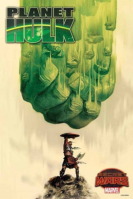 Planet Hulk no. 1 by Del Mundo Poster