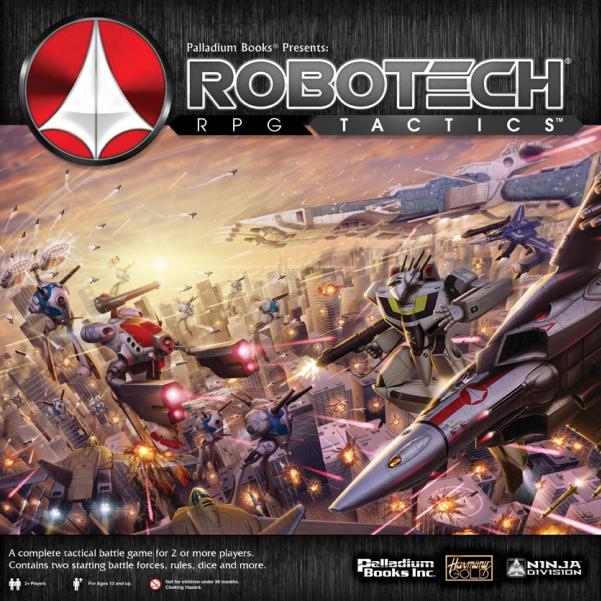 Robotech Tactics Role Playing Main Boxed Game
