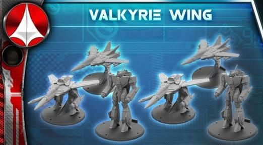 Robotech Tactics Role Playing: United Earth Defense Force Valkyrie Wing (6)