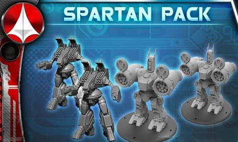 Robotech Tactics Role Playing: United Earth Defense Force Spartan/Phalanx Pack