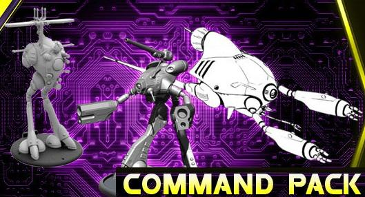 Robotech Tactics Role Playing: Zentraedi Armada Glaug Command Pack