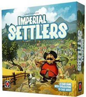 Imperial Settlers Board Game - USED - By Seller No: 12677 Kathryn R Robertson