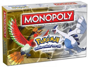 Monopoly: Pokemon Johto Board Game