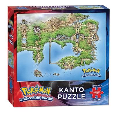Puzzle: Pokemon: Kanto Map