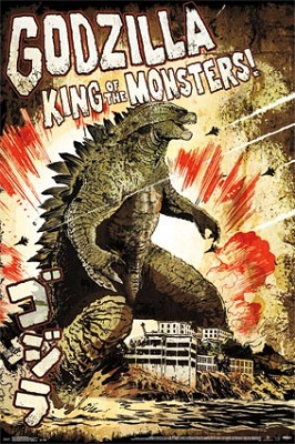 Godzilla: King of the Monsters Poster (24x36)